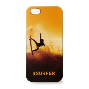 IPhone 5/5s Case [#SURFER-Yellow]