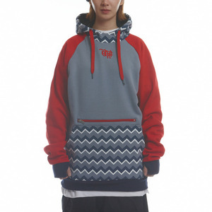 SIGNATURE HOODIE - GEOMETRY (BLUE GREY)