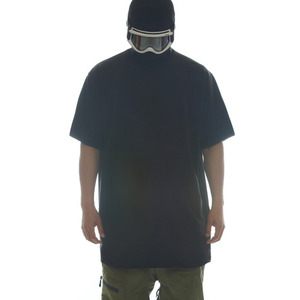 DRY-TECH PLAIN TEE - BLACK