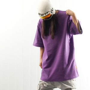 PLAIN TEE - Purple