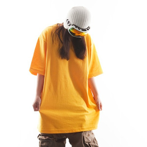 PLAIN TEE - Yellow