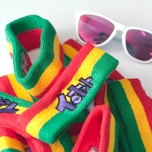 HEAD BAND - RASTA